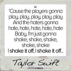 taylor swift lyrics quotes shake it off (1)