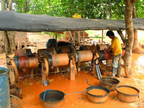 lombok island gold mining
