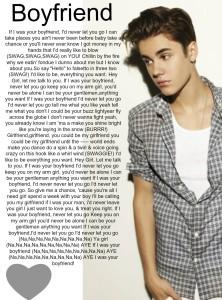 Justin Bieber boyfriend lyrics quotes (1)