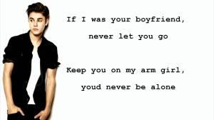 Justin Bieber boyfriend lyrics quotes (7)