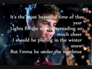 justin bieber lyrics quotes mistletoe (10)