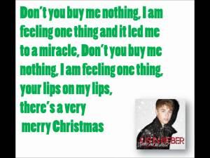 justin bieber lyrics quotes mistletoe (13)