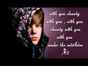 justin bieber lyrics quotes mistletoe (15)