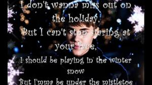 justin bieber lyrics quotes mistletoe (17)