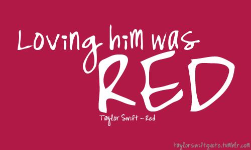 TAYLOR SWIFT LYRICS QUOTES FROM RED ALBUM – medzpro.com