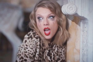 "Screen grab. Taylor Swift new video for ""Blank Space"""