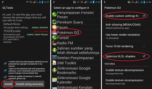 CARA MAIN POKEMON GO DI SMARTPHONE DENGAN RAM 512 MB